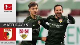 #fcavfb | highlights from matchday 15!► sub now: https://redirect.bundesliga.com/_bwcs watch the bundesliga of fc augsburg vs. vfb stuttgart ...