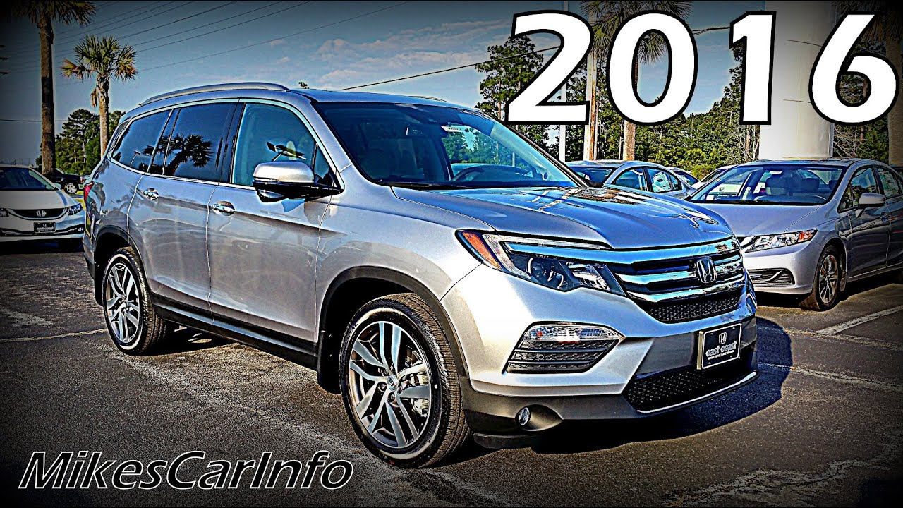 2016 honda pilot touring ultimate in depth look youtube. Black Bedroom Furniture Sets. Home Design Ideas
