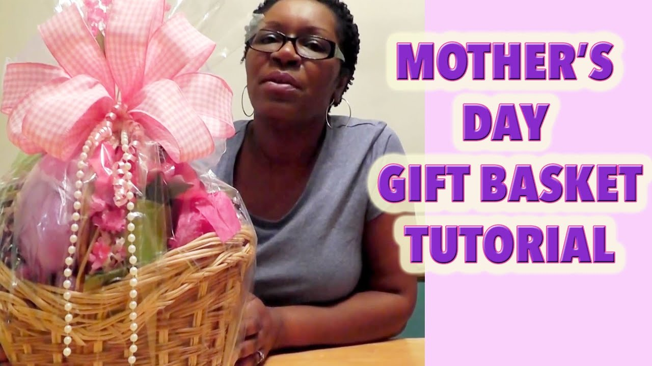 Make A Mother S Day Basket Dollar Tree Diy Gift Ideas