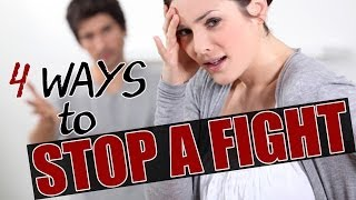 How to Stop Fighting in a Relationship and Resolve Conflict in Marriage