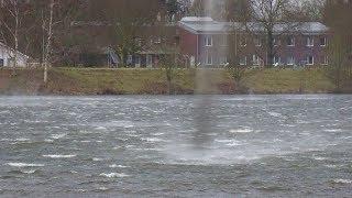 Orkan Januar 2018 in Bocholt - Tornado über Aasee