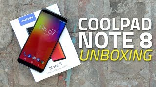 Coolpad Note 8 Unboxing and First Look | Prices, Specifications, Camera, and More