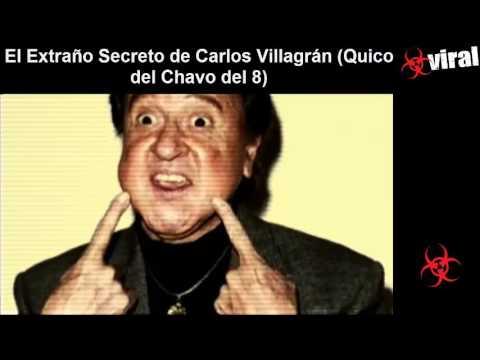 El Extraño Secreto de Carlos Villagrán Quico del Chavo del 8