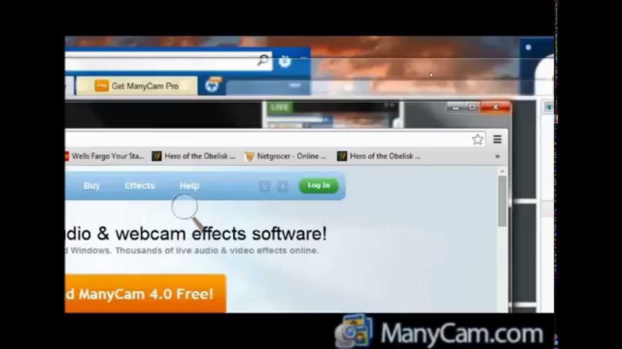 How To Fix An Audio Issue In ManyCam Webcam Software