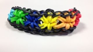 Repeat youtube video How to Make Starburst Bracelet | Make Starburst Bracelet on Bandaloom