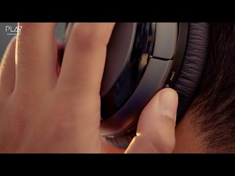 PLAYGO BH70 Experience World's First AI Based Headphones With Hybrid Active Noise Cancelling