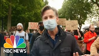Global Protests Call For Justice After George Floyd Death | NBC Nightly News