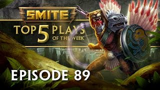 SMITE - Top 5 Plays #89