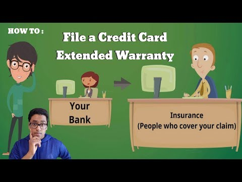 How To Use Your Credit Card Extended Warranty