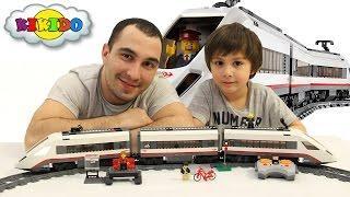 Лего Швидкісний Поїзд 60051. Нові Серії Лего 2016. Огляд конструктора і розпакування. Кикидо