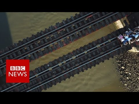 Is this the world's most dangerous commute? - BBC News