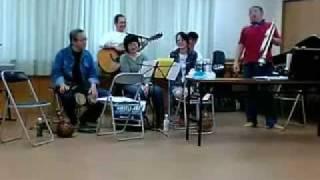 2007年4月17日 山梨温泉ツアー 上成島区公会堂ライブ 田中広志氏撮影 「...