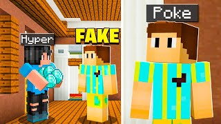 I Made A Fake POKE To Get My Minecraft Friends RARE Items!