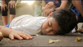 Menino Atropelado em Frente a Escola