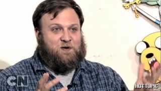 We stopped by Cartoon Network to talk Adventure Time with creator P...