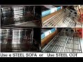 Stainless steel sofa | Steel sofa | out side sofa | furniture design| indian furniture new