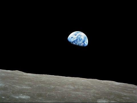 Apollo 8 - Bumi Terbit Dari Permukaan Bulan