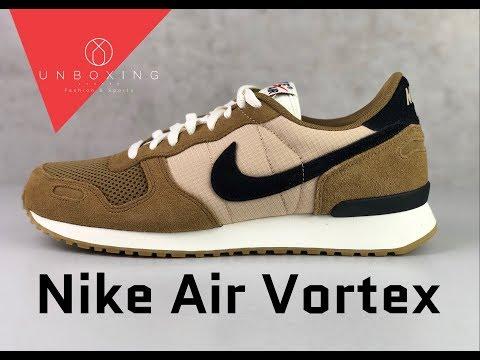 Nike Air Vortex 'Golden Beige/ Blk Desert/ Ore -Sail' | UNBOXING & ON FEET | fashion shoes | 2019