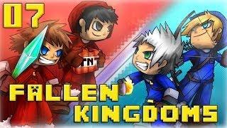 Fallen Kingdoms : Ice VS Fire | Jour 7 - Minecraft