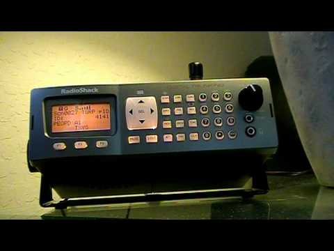 Listening to Encrypted Police Frequency on a Radio Shack PRO 197 Digital Trunk Tracking Scanner
