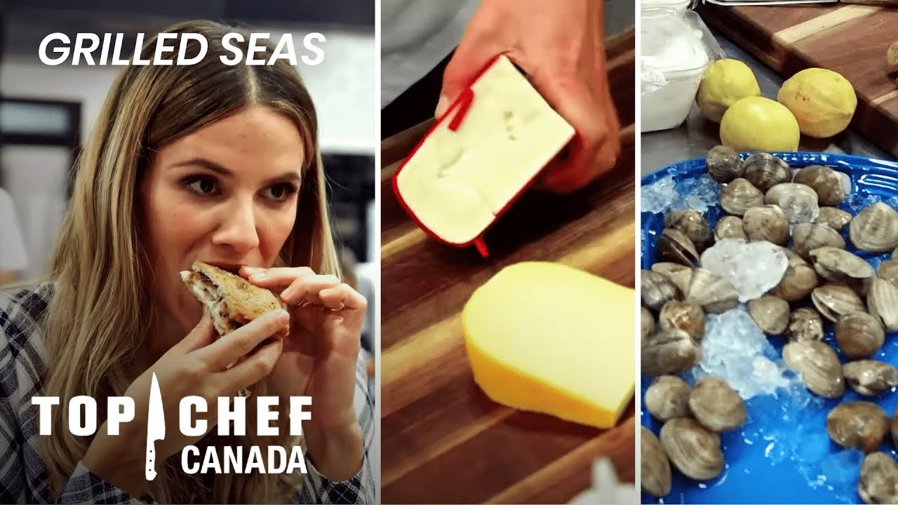 Download Can Fish Work With Grilled Cheese?   Top Chef Canada