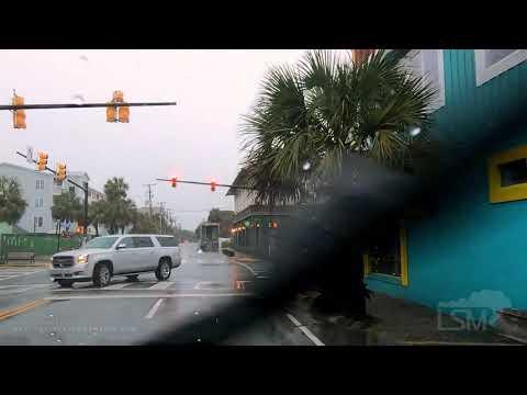 12-23-2019 Charleston, South Carolina - Area Flooding, Airport, And The Ravenel Bridge.