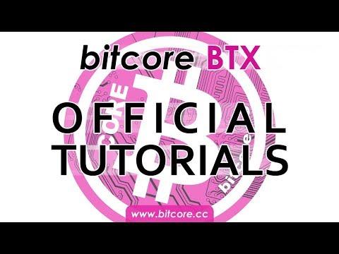Bitcore BTX - Tutorial #2: Coin Control Und Walletüberprüfung [Deutsch/German]