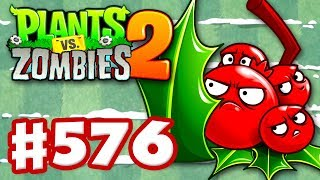 Plants vs. Zombies 2 - Gameplay Walkthrough Part 576 - Holly Barrier!