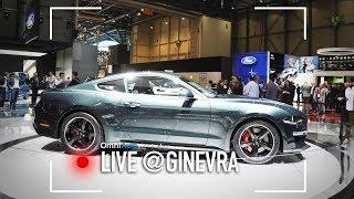 Dalla Mustang Bullit alla Fiesta con il 3 cilindri, ecco lo stand Ford   Salone di Ginevra 2018