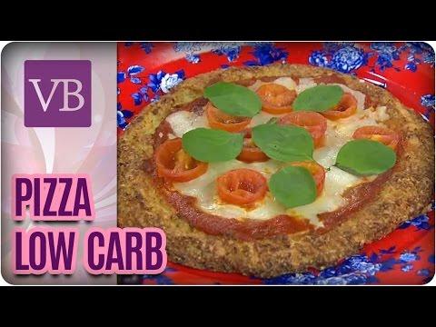 Pizza Low Carb - Você Bonita (05/09/16)