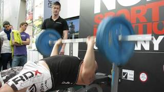 Eddie Hall 52 reps with 100kg