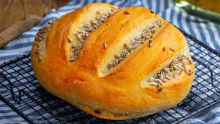Румяный пышный и ароматный домашний хлеб Выпечка хлеба это вкусное приключение Appetitno TV