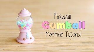 Kawaii Gumball Machine│Polymer Clay Tutorial