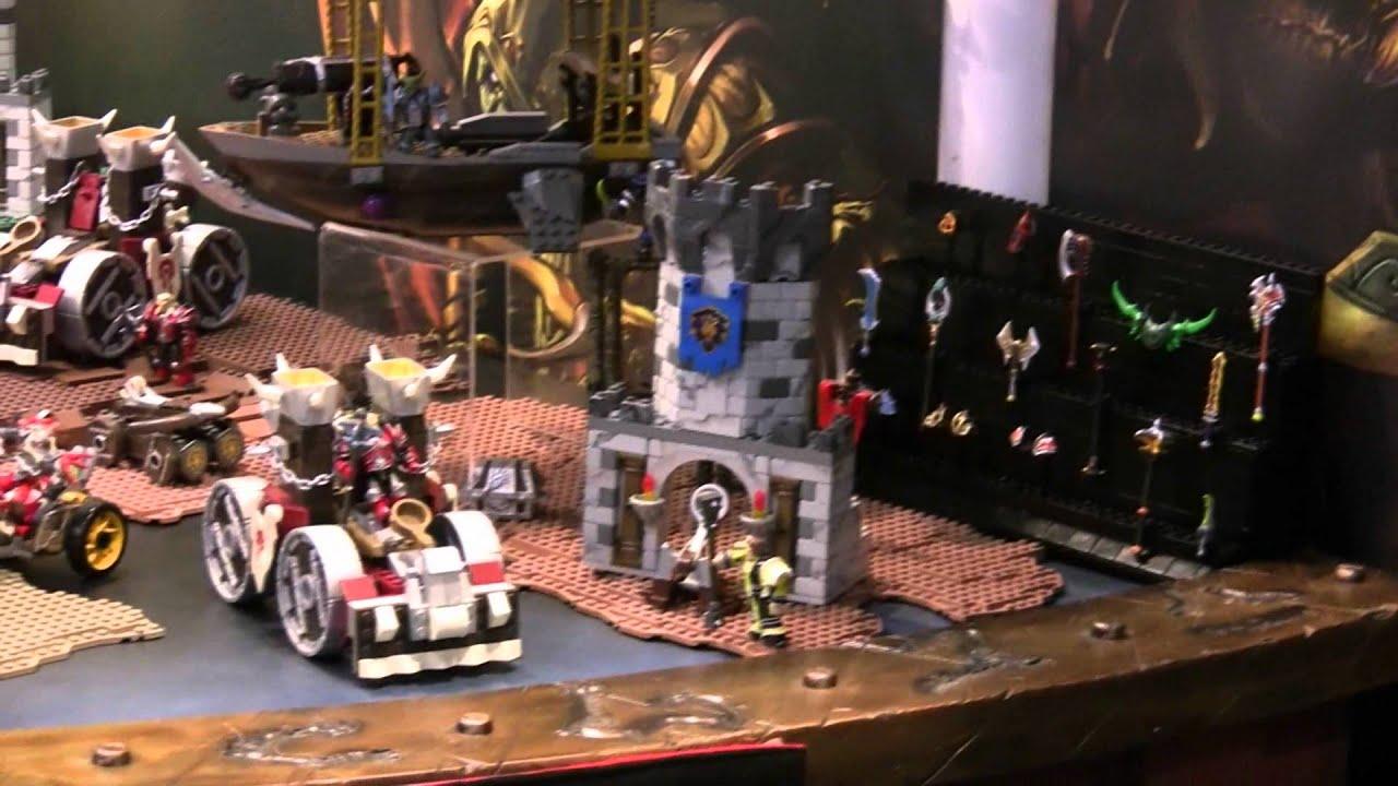 Blizzplanet Toy Fair 2012 Mega Bloks World Of Warcraft