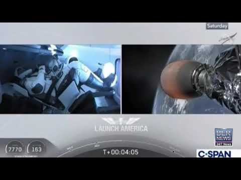 Bermuda Mentioned During NASA, SpaceX Launch, May 2020