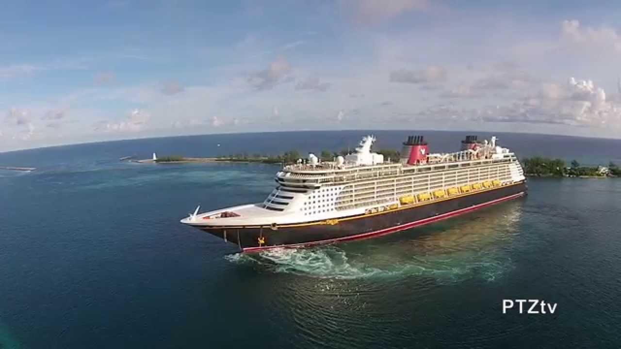 Nassau Bahamas Drone Video Of Cruise Ships Oct YouTube - Live cruise ship web cameras