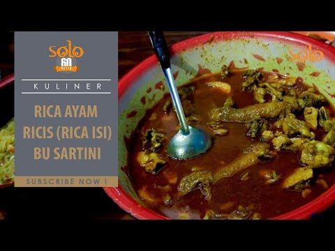 kuliner-di-solo:-pedesnya-ngangenin!-ricis-(rica-isi)-rica-ayam-bu-sartini---solo-60-detik