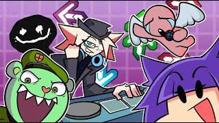 Rhythm Game Veteran vs. Camellia, Bob's Onslaught, & More! (Friday Night Funkin' Mods)