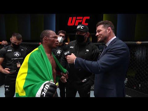 Francisco Trinaldo Octagon Interview | UFC Vegas 41