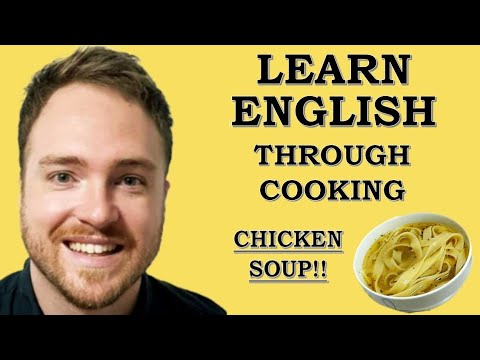 Love  Cooking? Learn English