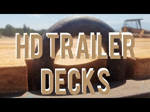 HD Trailer Decking - Douglas Fir Use #3