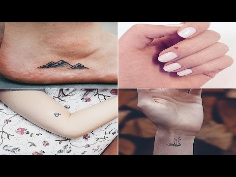 Small Tattoo Ideas and Inspiration / Girl Tiny Ink Tatoos