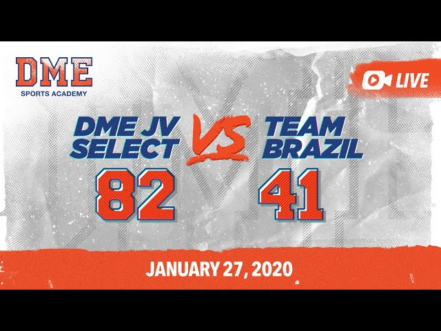 DME JV Select vs Team Brazil