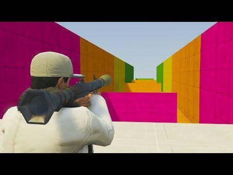MINIJUEGO! COLORES EXPLOSIVOS! - GTA 5 ONLINE - GTA V ONLINE