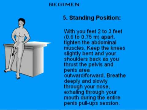 How to do kegel exercises men