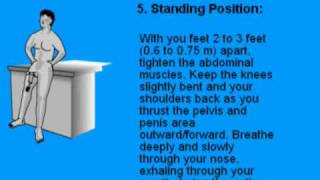 Instructions for Kegel Exercises Build PC Muscle for Men Pelvic Floor Muscles Exercises PC Muscle Control Free Enlargement Techniques Pelvic Exercises Help