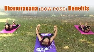 Dhanurasana (BOW POSE) Benefits