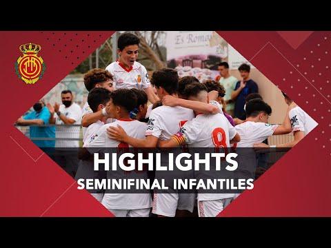 Los goles de la semifinal de los Infantiles  | RCD Mallorca