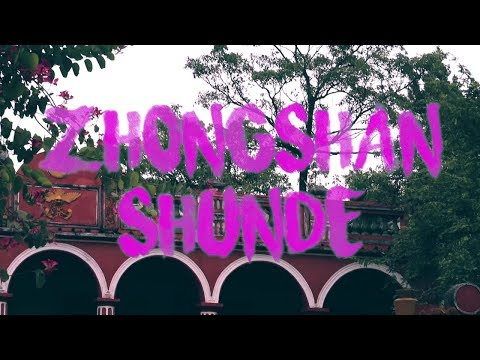 SECOND DAY IN CHINA-ZHONGSHAN AND SHUNDE