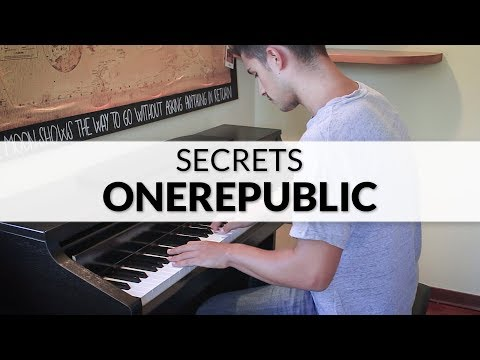 OneRepublic  Secrets  Piano